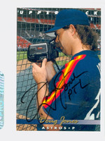 Doug Jones AUTOGRAPH 1993 Upper Deck Astros 