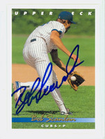 Bob Scanlan AUTOGRAPH 1993 Upper Deck Cubs 