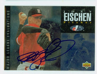 Joey Eischen AUTOGRAPH 1994 Upper Deck Deck Minor League Ottawa Lynx 