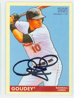 Adam Jones AUTOGRAPH 2009 Upper Deck Vintage 1933 Goudey Design Orioles 