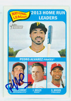 Paul Goldschmidt AUTOGRAPH 2014 Topps Heritage 1965 Topps Design HR Leaders Dbacks 