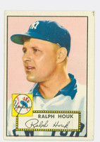 1952 Topps Baseball 200 Ralph Houk ROOKIE New York Yankees Good