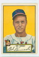 1952 Topps Baseball 77 Bob Kennedy Cleveland Indians Good to Very Good Black Back