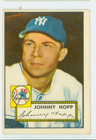 1952 Topps Baseball 214 Johnny Hopp New York Yankees Good to Very Good