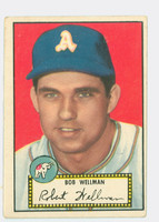 1952 Topps Baseball 41 Bob Wellman Philadelphia Athletics Very Good Black Back