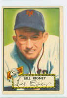 1952 Topps Baseball 125 Bill Rigney New York Giants Very Good