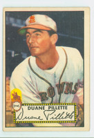 1952 Topps Baseball 82 Duane Pillette St. Louis Browns Very Good to Excellent