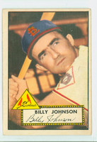 1952 Topps Baseball 83 Billy Johnson St. Louis Cardinals Very Good to Excellent