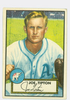 1952 Topps Baseball 134 Joe Tipton Philadelphia Athletics Very Good to Excellent