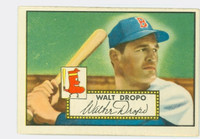 1952 Topps Baseball 235 Walt Dropo Boston Red Sox Very Good to Excellent