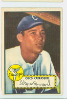 1952 Topps Baseball 251 Chico Carrasquel Chicago White Sox Very Good to Excellent