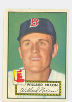 1952 Topps Baseball 269 Willard Nixon Boston Red Sox Very Good to Excellent