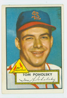 1952 Topps Baseball 242 Tom Poholsky St. Louis Cardinals Excellent