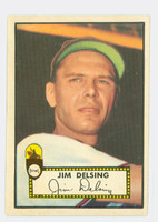 1952 Topps Baseball 271 Jim Delsing St. Louis Browns Excellent