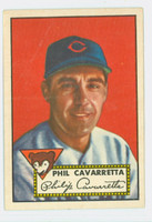 1952 Topps Baseball 295 Phil Cavarretta Chicago Cubs Excellent