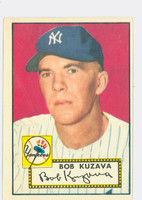 1952 Topps Baseball 85 Bob Kuzava New York Yankees Excellent to Excellent Plus