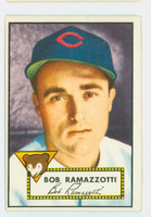 1952 Topps Baseball 184 Bob Ramazzotti Chicago Cubs Excellent to Excellent Plus