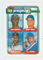 Alan Cockrell AUTOGRAPH 1992 Topps Top Prospects Indians   [SKU:CockA11235_T92BB]