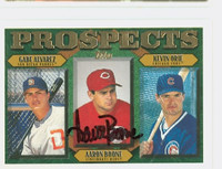 Aaron Boone AUTOGRAPH 1997 Topps Prospects Reds 