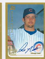 Phil Norton AUTOGRAPH 1999 Topps Traded Cubs 