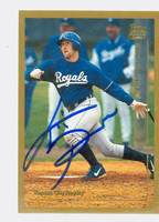 Kit Pellow AUTOGRAPH 1999 Topps Traded Royals 