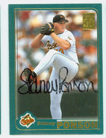 Sidney Ponson AUTOGRAPH 2001 Topps Orioles   [SKU:PonsS13017_T01BB]