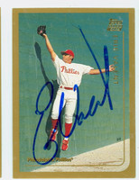 Eric Valent AUTOGRAPH 1999 Topps Traded Phillies   [SKU:ValeE13691_T99BBTR]