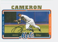 Mike Cameron AUTOGRAPH 2005 Topps Mets 