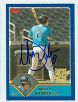 Matt Demarco AUTOGRAPH 2003 Topps Traded Marlins 