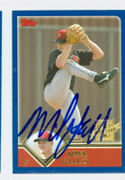 Mike Gallo AUTOGRAPH 2003 Topps Traded Astros 