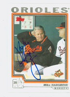 Mike Hargrove AUTOGRAPH 2004 Topps Orioles   [SKU:HargM4466_T04BB]