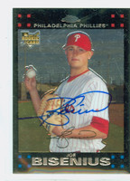 Joe Bisenius AUTOGRAPH 2007 Topps Phillies 