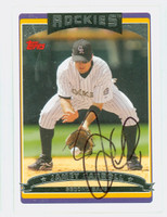 Jamey Carroll AUTOGRAPH 2006 Topps Rockies 