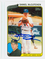 Daniel McCutchen AUTOGRAPH 2010 Topps When They Were Young Pirates 