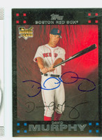 David Murphy AUTOGRAPH 2007 Topps Red Sox 