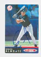Erick Almonte AUTOGRAPH 2002 Topps Total Yankees 