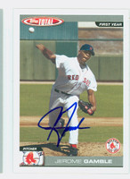 Jerome Gamble AUTOGRAPH 2004 Topps Total Red Sox 