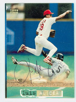 Luis Alicea AUTOGRAPH 1994 Topps Stadium Club Cardinals 