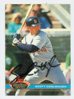 Scott Coolbaugh AUTOGRAPH 1991 Topps Stadium Club Padres   [SKU:CoolS10279_TPSC91]