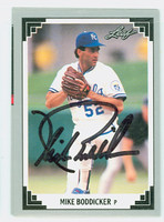 Mike Boddicker AUTOGRAPH 1991 Leaf Royals 