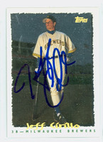 Jeff Cirillo AUTOGRAPH 1995 Topps Brewers 