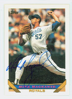 Mike Magnante AUTOGRAPH 1993 Topps Royals   [SKU:MagnM12442_T93BB]