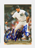 Rich Monteleone AUTOGRAPH 1993 Topps Gold Yankees 