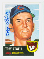 Toby Atwell AUTOGRAPH d.03 Topps 1953 Archives Cubs   [SKU:AtweT54_T53BBRP3]