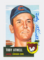 Toby Atwell AUTOGRAPH d.03 Topps 1953 Archives Cubs   [SKU:AtweT54_T53BBRP2]