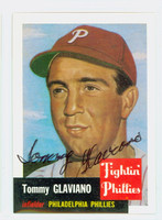 Tommy Glaviano AUTOGRAPH d.04 Topps 1953 Archives Phillies   [SKU:GlavT280_T53BBRP2]