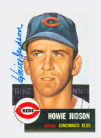 Howie Judson AUTOGRAPH Topps 1953 Archives Reds   [SKU:JudsH113_T53BBRP2]
