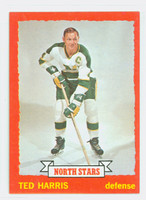 1973-74 Topps Hockey Ted Harris Minnesota North Stars Near-Mint to Mint