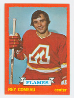 1973-74 Topps Hockey Rey Comeau Atlanta Flames Near-Mint to Mint