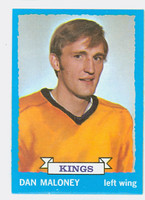 1973-74 Topps Hockey Dan Maloney Los Angeles Kings Near-Mint to Mint